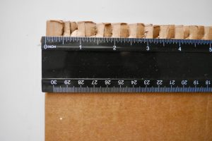make cardboard loom