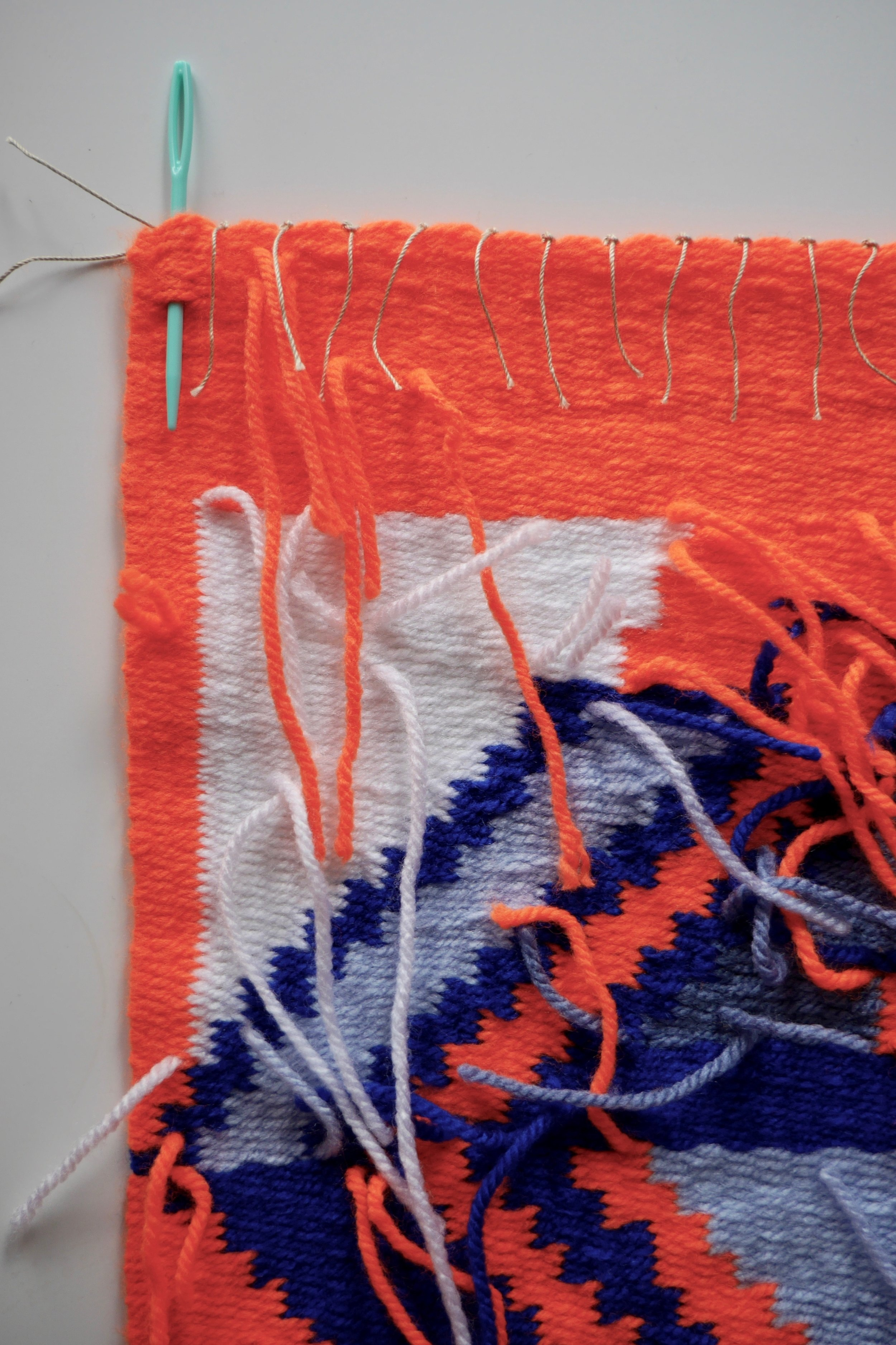 7 Ways to Finish and Hang Weaving