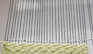 chevron twill weave pattern