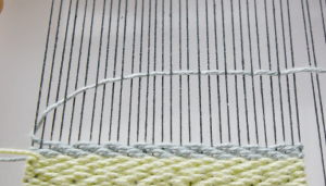 twill weave chevron weave pattern