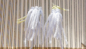 rya knot weaving pattern