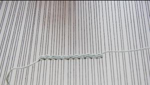 pile weave pattern