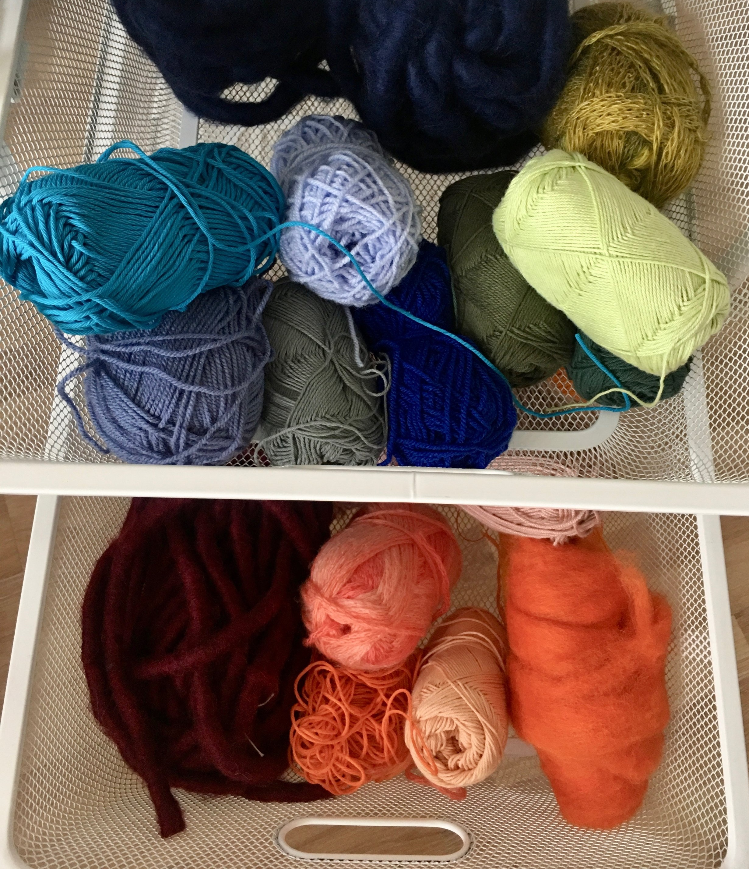 6 Ways to Store and Organize Yarn