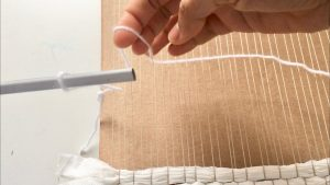 string heddle weaving