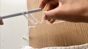 string heddle weaving
