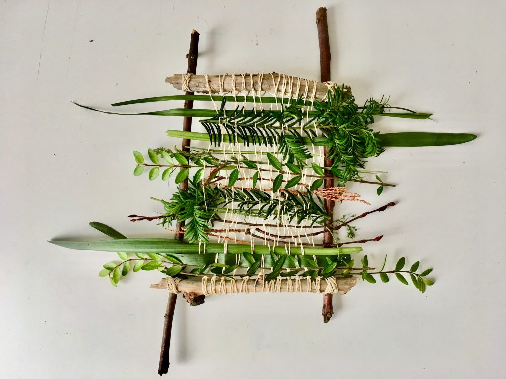 weaving nature project 2