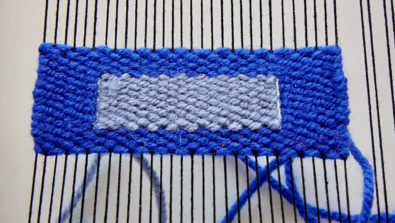 weaving shapes rectangle