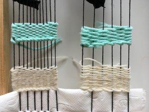 low density warp weaving thin yarn
