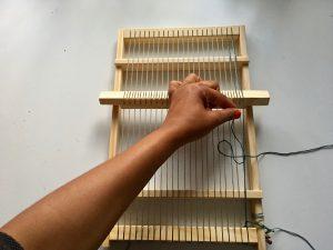 double warp frame loom tutorial Sostrene Grenes