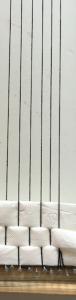low density thin yarn warp