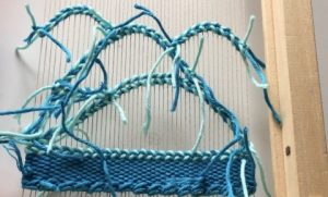 scalloping weaving techniques