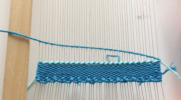 Twining: Weaving Technique
