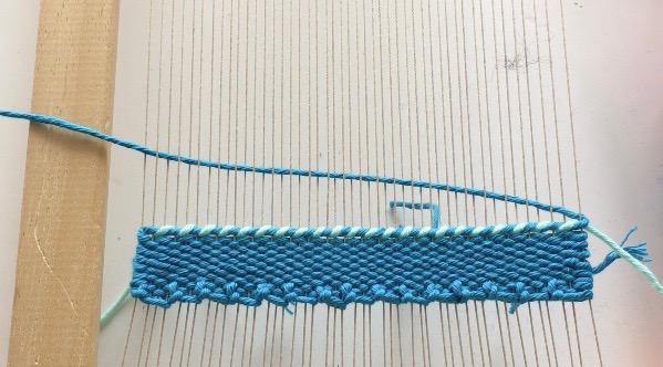 Twining: Weaving Technique