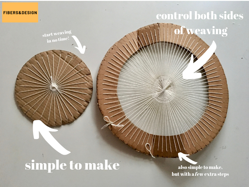 Circle Weaving Tutorial: Warping, weaving and problems to avoid!