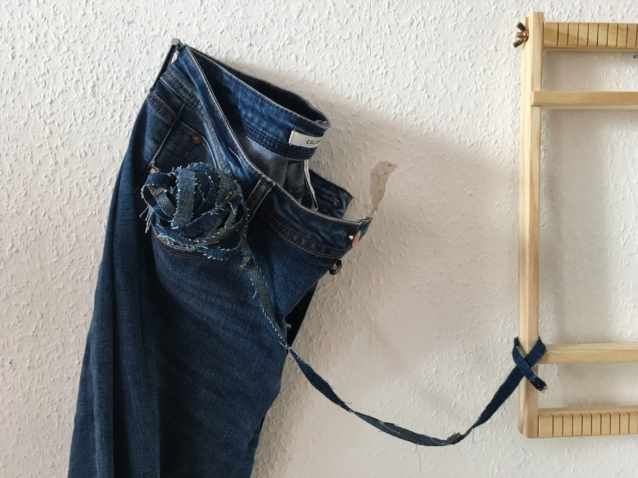 Weaving with Jeans: Weaving Techniques