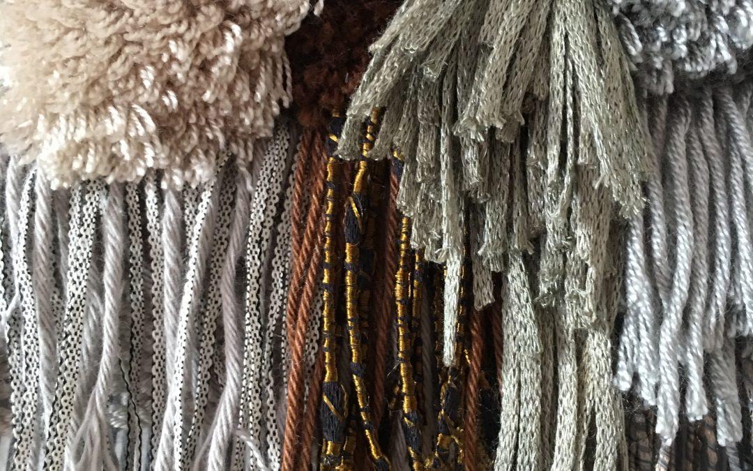 Rya Knots Fringe Weave : Basic Weaving Pattern for Beginners