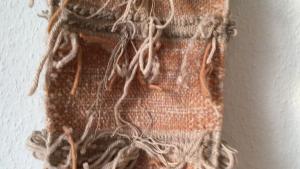 Weaving a Scarf on a Frame Loom
