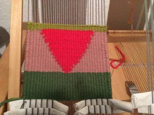 weaving and felting yarn