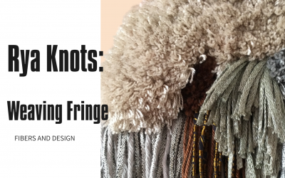 Rya Knots Fringe Weave : Basic Weaving Pattern for Beginners