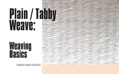 Plain Tabby Weave: Basic Weaving Pattern for Beginners