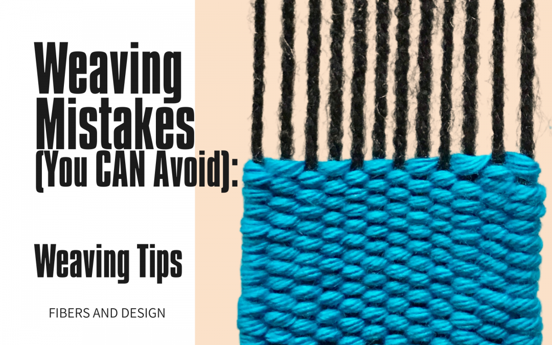 10 Mistakes New Frame Loom Weavers Make: uneven edges, loose warp tension and more!