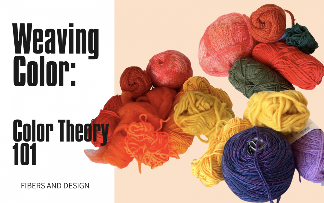 Weaving Color: a guide to yarn colors for weaving (with pictures)