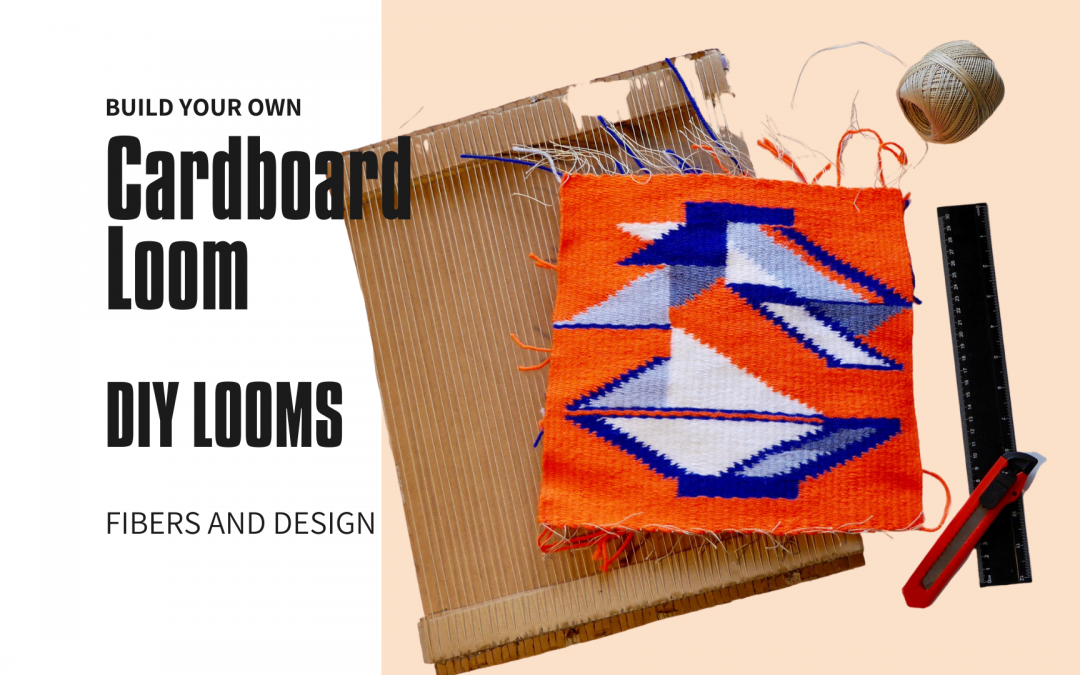 How to make a cardboard loom? (with picture and video tutorial)