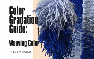 Color Gradation Guide: Weaving Color