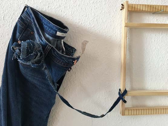 Weaving with Denim: Weaving Techniques