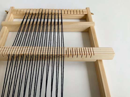 double warp loom