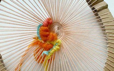 Round Weaving Loom Tutorial