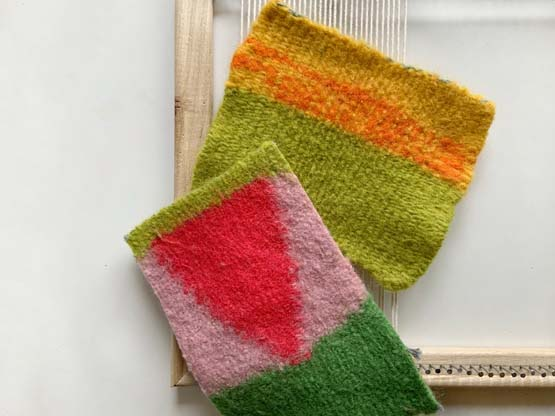10 Steps for Weaving Felting Yarn on the Loom