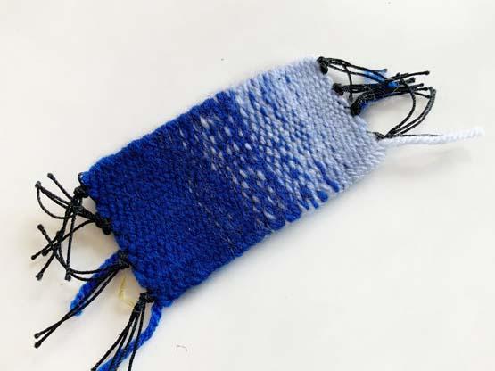 plain weave color gradation