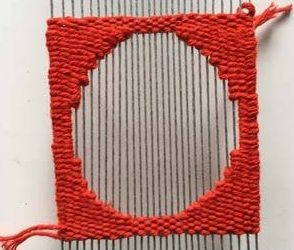 3 Ways to Weave Circles : Weaving Shapes on the Loom Guide