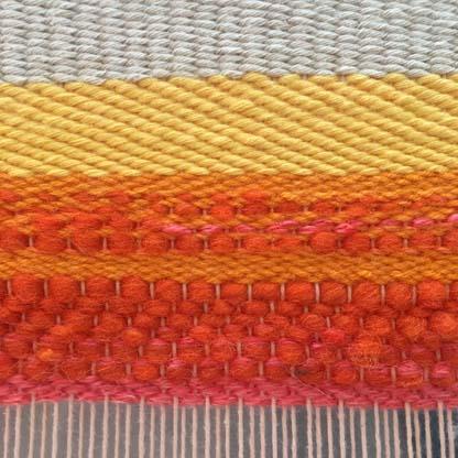Twill and Chevron Weave Pattern : Basic Weaving Patterns