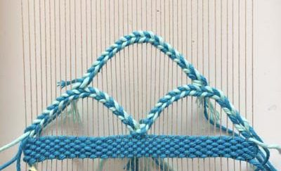 Weaving Curves, hills and waves: Weaving Shapes