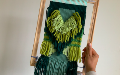 Woven Wall Hanging Tutorial | Weaving with Wool | Project for Beginner Weavers